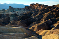 Late afternoon light from Zabriskie Point, Death Valley National Park