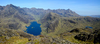 Loch Coruisk and the Cuillin Ridge from Sgurr na Stri, Isle of SKye