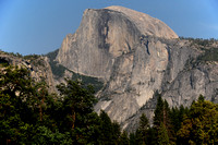 Half Dome from Yosemite Valley, Yosemite National Park