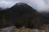 Beenkeragh from the summit of Carrauntoohil, MacGillycuddy's Reeks, County Kerry