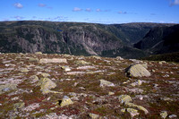 The Long Range Mountains from Gros Morne Mountain, Gros Morne National Park, Newfoundland and Labrador