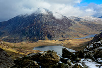 Pen yr Ole Wen from the Devil's Kitchen, Snowdonia National Park