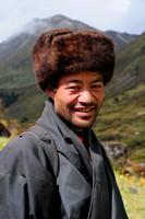 Bhutanese man at Robluthang