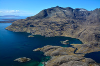 Loch Scavaig and the southern end of the Cuillin Ridge from the summit of Sgurr na Stri, Isle of Skye