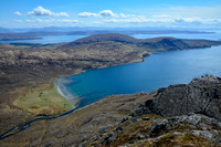 Camasunary from the summit of Sgurr na Stri, Isle of Skye