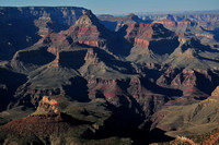 The view from Grandview Point, South Rim