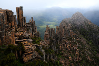 The summit of The Acropolis, Cradle Mountain-Lake St. Clair National Park