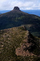 Mount Pelion East from Mount Ossa, Cradle Mountain-Lake St. Clair National Park