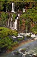Waterfalls on the Argentinian side, from the Brazilian viewing platform