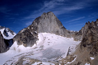 Bugaboo Spire from the summit of Eastpost Spire