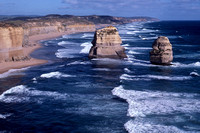Two of the Twelve Apostles, Port Campbell National Park, Victoria