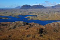 Suilven and Loch Sionascaig from Stac Pollaidh
