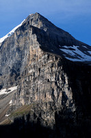 Mount Lefroy from the Plain of Six Glaciers