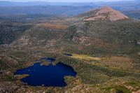 Lake Rodway and Mount Emmett from the summit of Cradle Mountain, Cradle Mountain-Lake St. Clair National Park