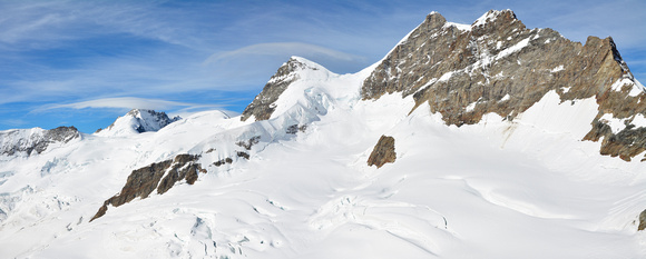 The Jungfrau from the Jungfraujoch
