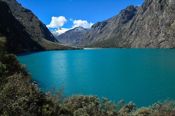 Chinancocha, the lower of the Llanganuco Lakes