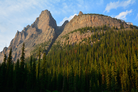 Wiwaxy Peak from the Cataract Brook Trail
