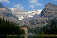 Mount Lefroy and Glacier Peak from Lake O'Hara