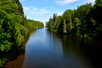 The Willow River, Pukaskwa National Park