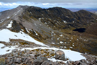 Ben More Assynt, viewed from the ridge to Conival