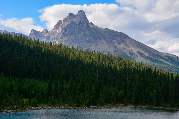 Cathedral Mountain from the Morning Glory Lakes