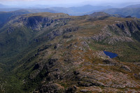 Little Plateau and Sutton's Tarn from the summit of Cradle Mountain, Cradle Mountain-Lake St. Clair National Park
