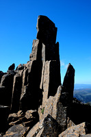 Dolerite pillars near the summit of Cradle Mountain, Cradle Mountain-Lake St. Clair National Park